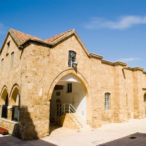 Old Nicosia's Panayia Chrysaliniotissa Church