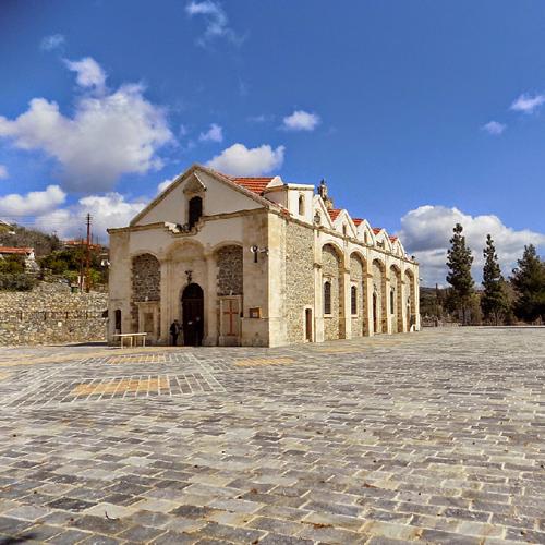 The Church of Panayia Iamatiki