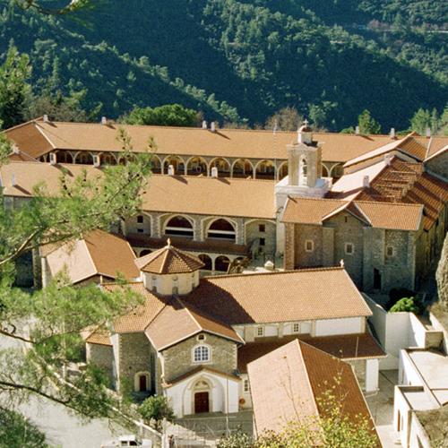 Machairas Monastery: Home to a Unique Icon