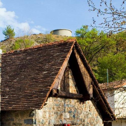 Palaichori's Church inspired by Byzantine and Renaissance art