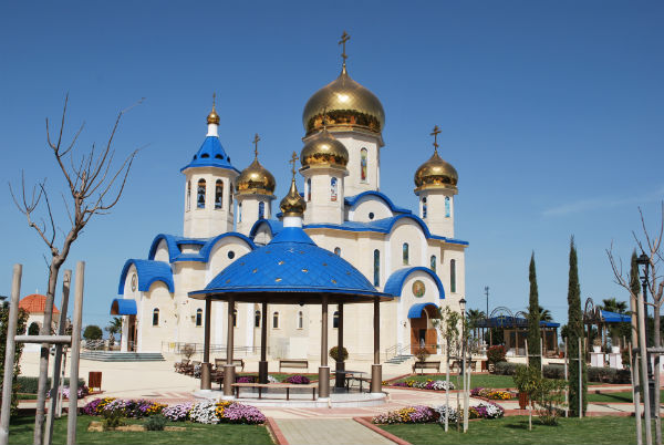 Cyprus' first Russian-style Church