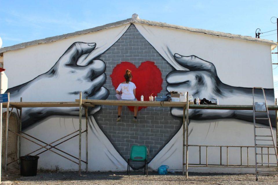 athienou street art