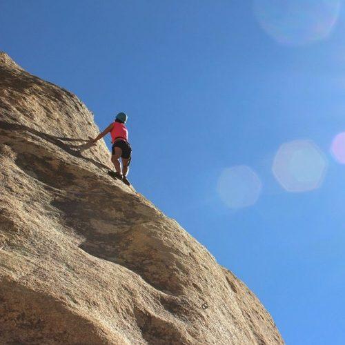 Climbing in Cyprus