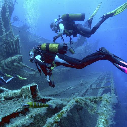 Amphorae Dive Site