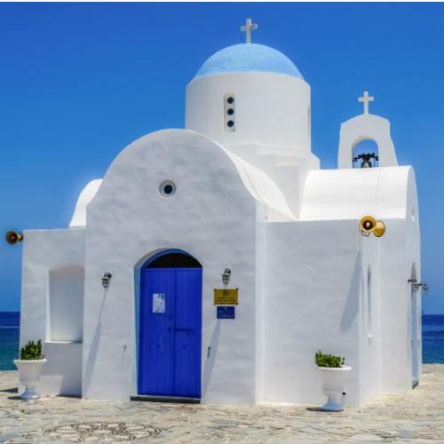 Saint Nicolas Church in Protaras