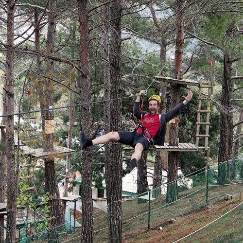 Sparti Platres Rope Adventure Park
