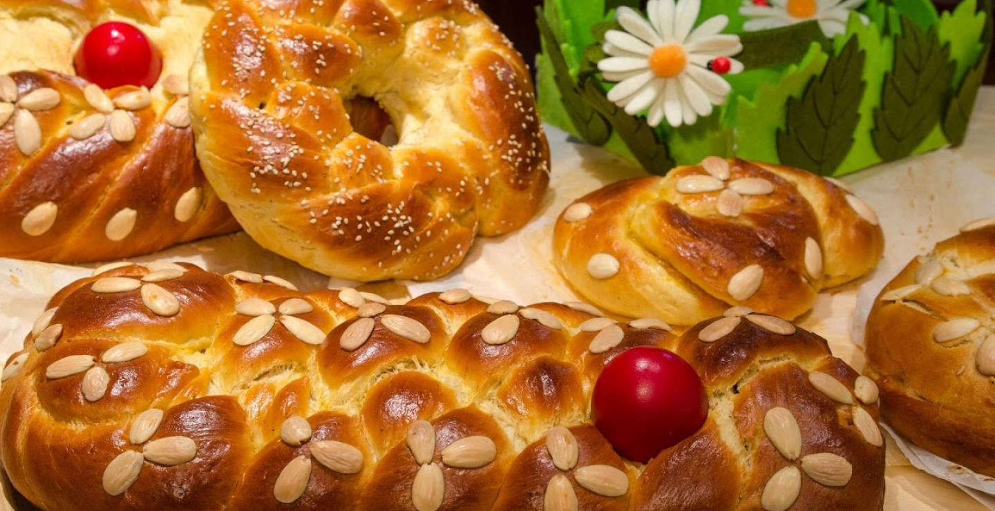 Easter is coming, try some traditional tsourekia