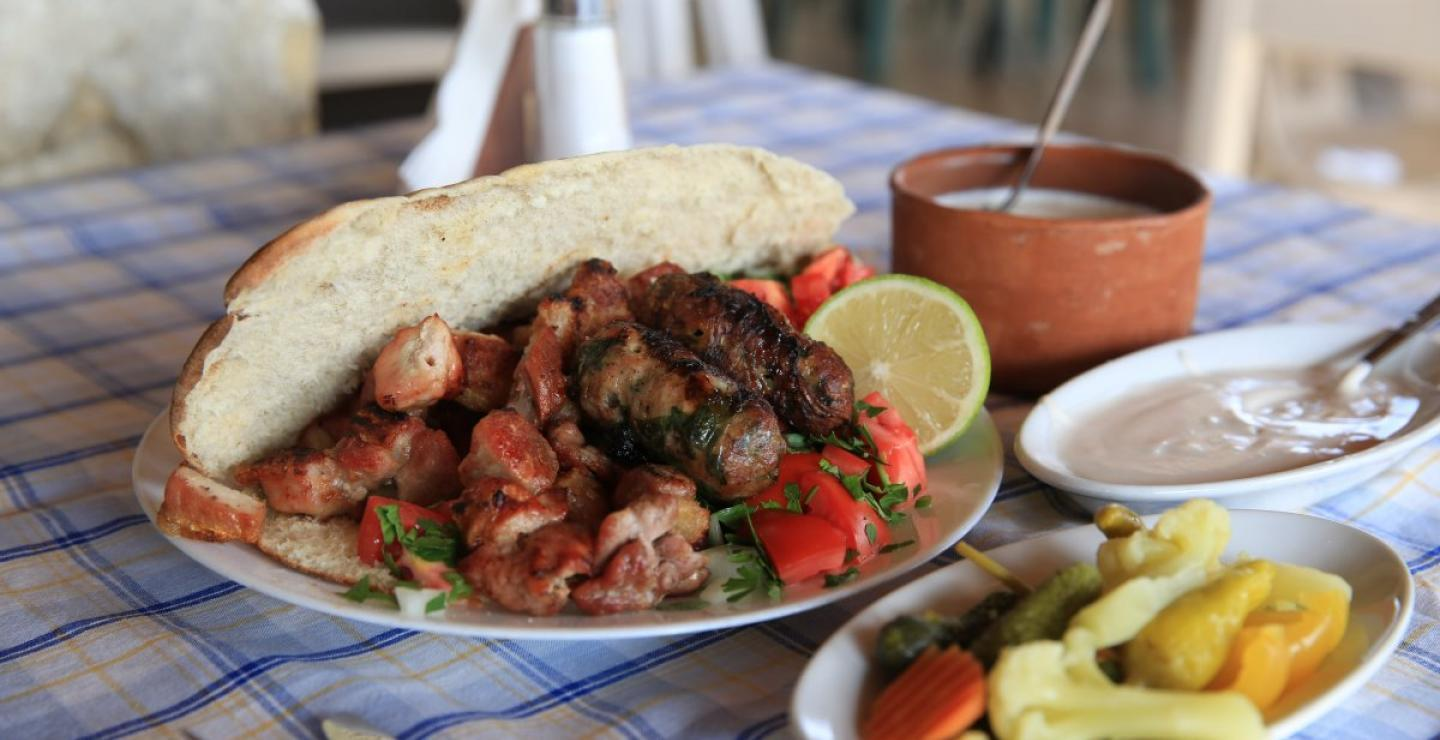 12 shops across Cyprus known for their souvlaki
