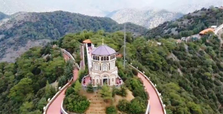 Stunning views from this landmark near Kykkos Monastery